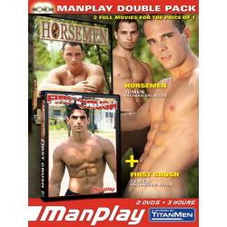 MP-Pack Horsemen / First Crush 2-DVD-Set (Manplay) (04451D)