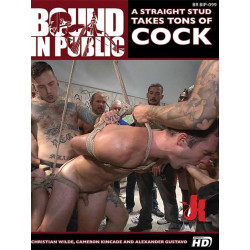 A Straight Stud Takes Tons of Cock DVD (Bound In Public) (20496D)