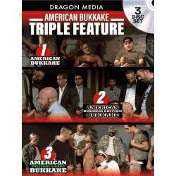 American Bukkake Triple Feature 3-DVD-Set (Ray Dragon) (20577D)
