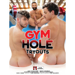 Gym Hole Tryouts DVD (Club Inferno (by HotHouse)) (20539D)