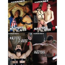 Masters and Slaves 4-DVD-Set (Hard Kinks) (20523D)