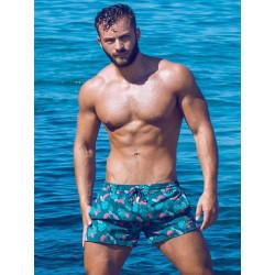2Eros Print Swimshorts Monstera (T8161)