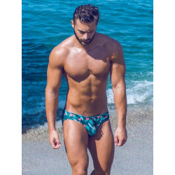 2Eros Print Swimwear Brief Monstera (T8163)