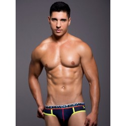Andrew Christian Air Jock w/Show-It Underwear Navy (T3841)