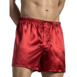 Olaf Benz Boxershorts PEARL1571 Underwear Red Silk (T3947)