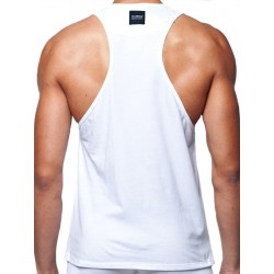 2Eros Anchor Singlet Tank Top White (T3997)