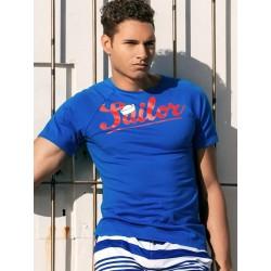 2Eros Anchor T-Shirt Navy (T3998)