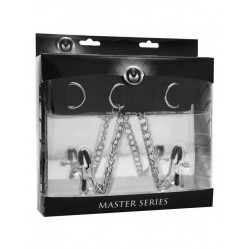 Master Series Submission Collar and Nipple Clamp Union (T4261)