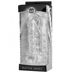 Master Series Girth Enhancing Penetration Device and Stroker Sleeve Clear (T4256)