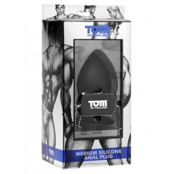 Tom of Finland Anal Plug Silicone M