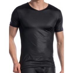 Olaf Benz V-Neck T-Shirt Regular RED1605 Black