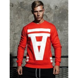 Supawear Crimson Sweater Red (T4760)