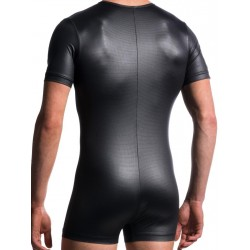 Manstore Zipped Body M605 Underwear Black (T4763)