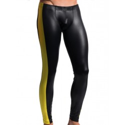 Manstore Tight Leggings M604 Underwear Black/Beer (T4766)