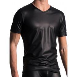 Manstore V-Neck Tee T-Shirt Regular M510 Black (T4857)