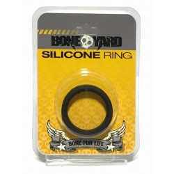 Bone Yard Silicone Ring Black