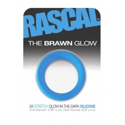 The Brawn Glow Cockring Blue (Rascal Toys) (T4959)