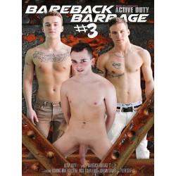 Bareback Barrage #3 DVD (14037D)