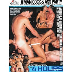 8 Man Cock & Ass Party 4h DVD