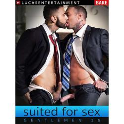 Gentlemen #15: Suited For Sex DVD (LucasEntertainment) (13139D)