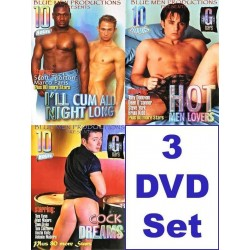Blue Men 30 h Pack 6 3-DVD-Set