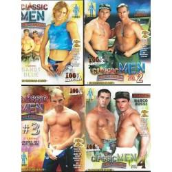 Classic Men Pre Condom 1-4 4-DVD-Set (10455D)
