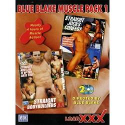 Blue Blake Muscle Pack #1 2-DVD-Set (13864D)