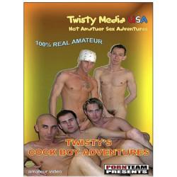 Twisty's Cock Boy Adventures DVD (09966D)