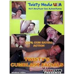 Twisty`s Cumblast Facials DVD (09967D)