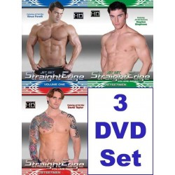 Straight Edge 1-3 SuperPack 3-DVD-Set
