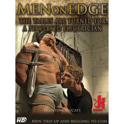 The Tables Are Turned for a Perverted Electrician DVD (Men On Edge) (13888D)