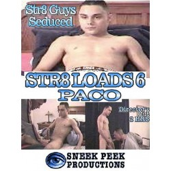 Str8 Loads #6: Paco DVD (12896D)