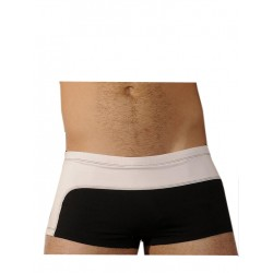 GBGB Mel Boxer Swim Swimwear Black/White
