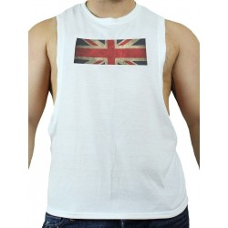 GB2 C Muscle UK T-Shirt White (T3008)