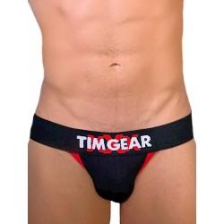 TIM Gear XXX Jockstrap Underwear Black