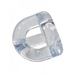 Sport Fucker Half Guard Cockring/Ball Stretcher Clear
