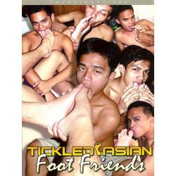 Tickled Asian Foot Friends DVD (Gay Asian Twink) (12884D)