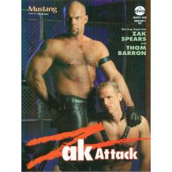 Zak Attack DVD (Mustang / Falcon) (01296D)