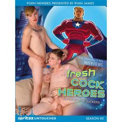 Fresh Cock Heroes DVD  (Spritzz) (14399D)