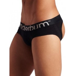 Rounderbum Jock Brief I Underwear Black (T4818)
