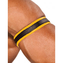 Colt Leather Bicep Strap - Yellow