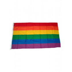 Regenbogenflagge / Rainbow Flag 90 x 150 cm (T0126)