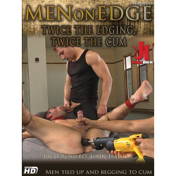 Twice The Edging, Twice The Cum DVD (15109D)