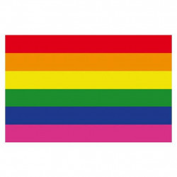 Rainbow Magnet Gay Pride flexible 4,5 x 7 cm (T0147)