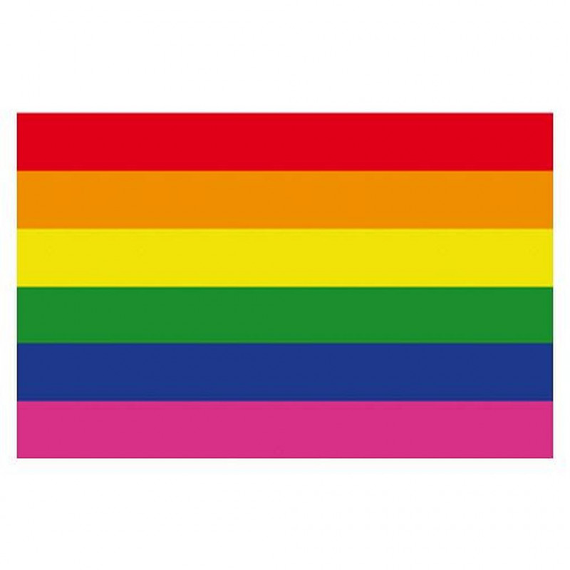 Rainbow Magnet Gay Pride flexible 4,5 x 7 cm (T0147)
