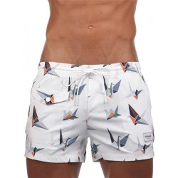 Supawear Supadupa Origami Swim Shorts Swimwear Multicolor