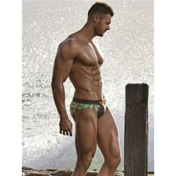 2Eros Tiger Swim Brief Swimwear Multicolor (T5098)