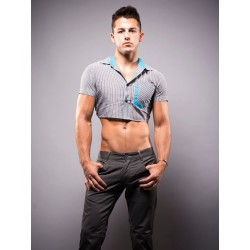 Andrew Christian Snip Shirt Grey (T4087)