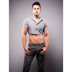 Andrew Christian Snip Shirt Grey (T4087)