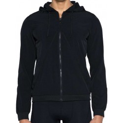 2Eros BLK Aktiv Windbreaker Jacket Black